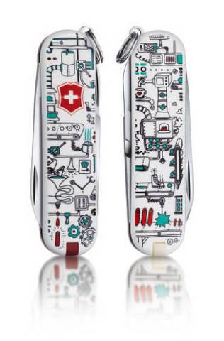 Нож-брелок Victorinox Classic LE 2013, 58 мм, 7 функций,