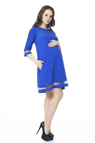 Платье 07560 синий