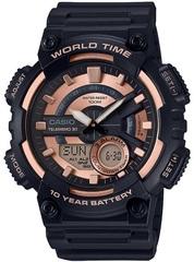 Мужские электронные часы Casio AEQ-110W-1A3