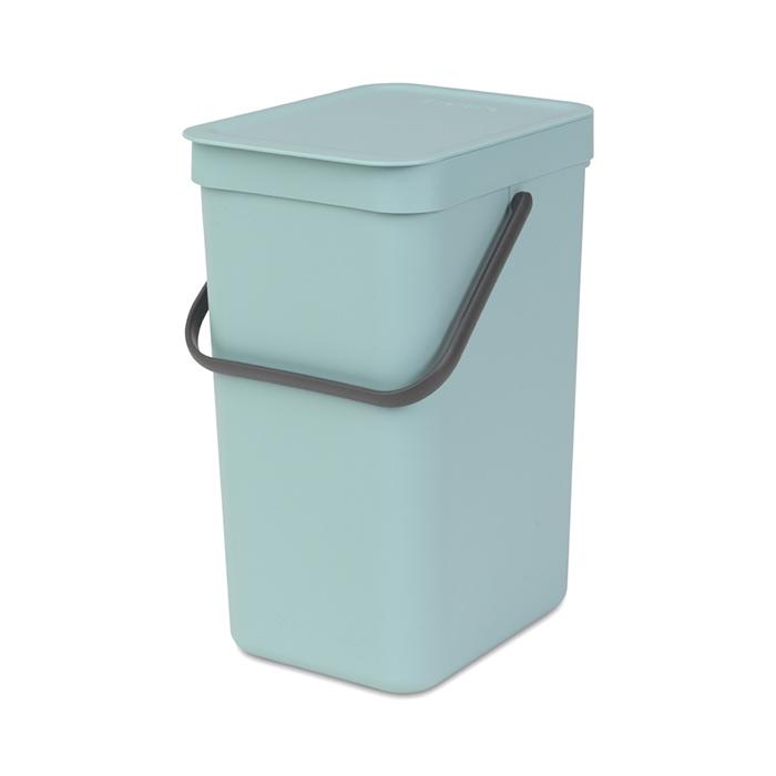 Встраиваемое мусорное ведро Sort & Go (12 л), Мятный, арт. 109744 - фото 1