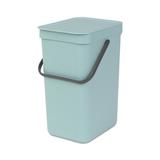 Встраиваемое мусорное ведро Sort & Go (12 л), Мятный, артикул 109744, производитель - Brabantia