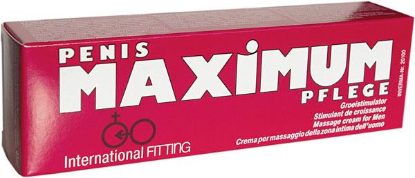 Возбуждающие: Возбуждающий мужской крем Maximum - 45 мл.