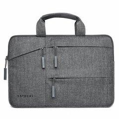 Сумка Satechi Water-Resistant Laptop Carrying Case для ноутбуков до 15, серый