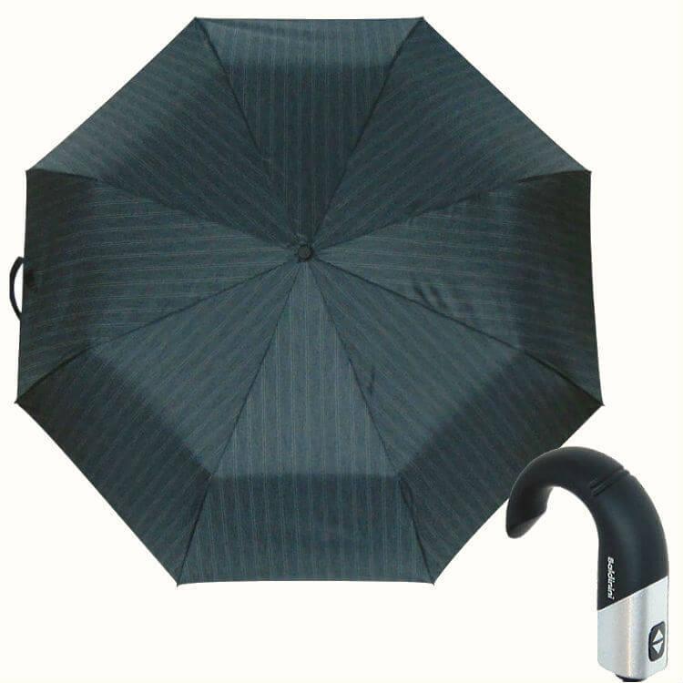 Зонт складной Baldinini 557-2 Cravatteria striscia grigia