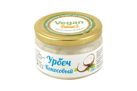 Урбеч из мякоти кокоса Vegan Food, 200 гр
