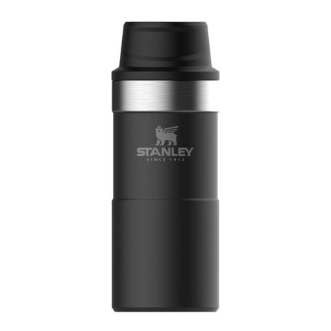 Термокружка Stanley Classic One hand 2.0 (0,35 литра), черная