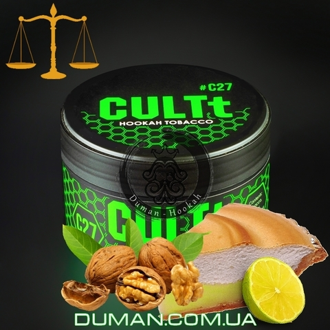 Табак CULTt C27 Lemon-Nut Pie (Культ Лимонно-Ореховый Пирог) |25г