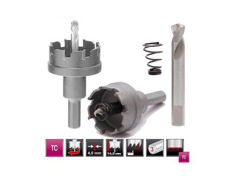 Коронка по металлу с тв. зубьями H-Tools HM(TCT) D=25мм L14мм 2011-30025