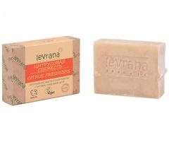 Натуральное мыло ручной работы Цитрусовая свежесть 100g, ТМ Levrana