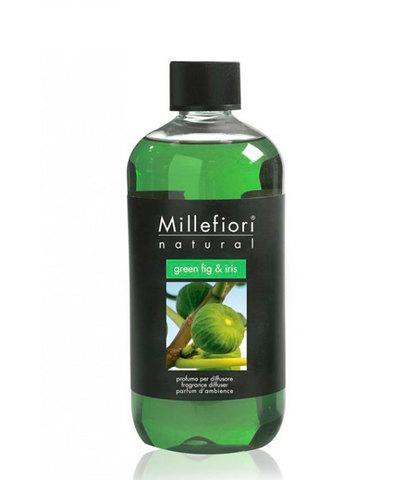 Наполнитель для ароматического диффузора Зеленый инжир и ирис, Millefiori Milano