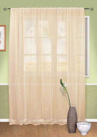 Готовая штора вуаль Parta нежный розовый