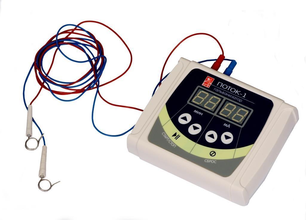 Аппарат гальванизации и электрофореза Поток-1