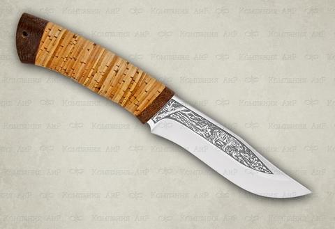 Туристический нож Клычок-3 береста 95х18