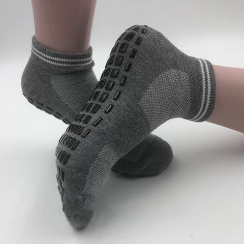 Нескользящие носки (р. 38-41) - Усиленные, для йоги, батута, спорта