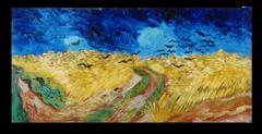 """Репродукция """"Ван Гог - Пшеничное поле с воронами"""""""