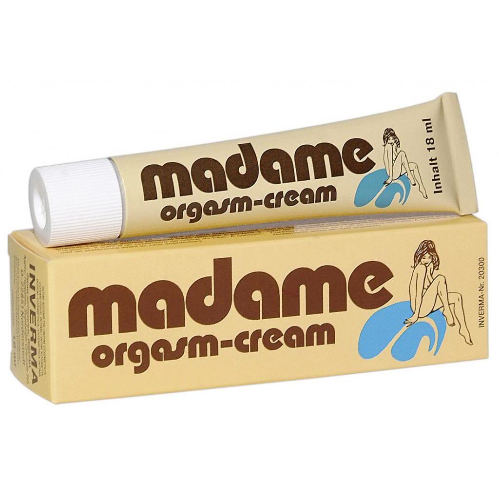 Возбуждающие: Возбуждающий крем для женщин Madame Orgasm - 18 мл.