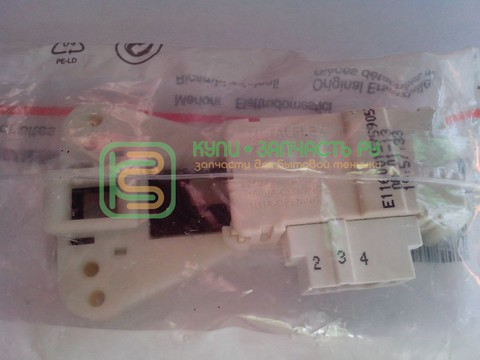 Устройство блокировки люка (УБЛ) для стиральной машины Indesit (Индезит)/Ariston (Аристон) - 085194