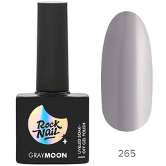 Гель-лак RockNail Gray Moon 265 Moon Stone, 10мл.