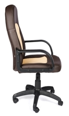 Кресло компьютерное Парма (Parma) — коричневый/бежевый (36-36/36-34)