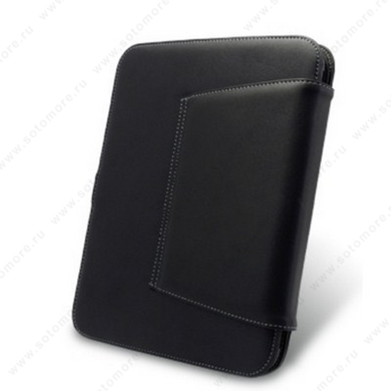 Чехол-флип Melkco для HP TouchPad 9.7 Leather Case Book Type (Black)