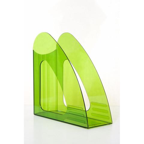 Вертикальный накопитель Attache 90мм прозрачный зеленый