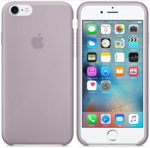 iPhone 7/8 Silicone Case  Лавандовый