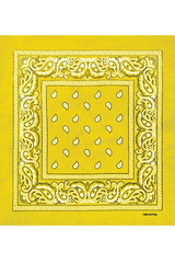 Yellow bandana фото