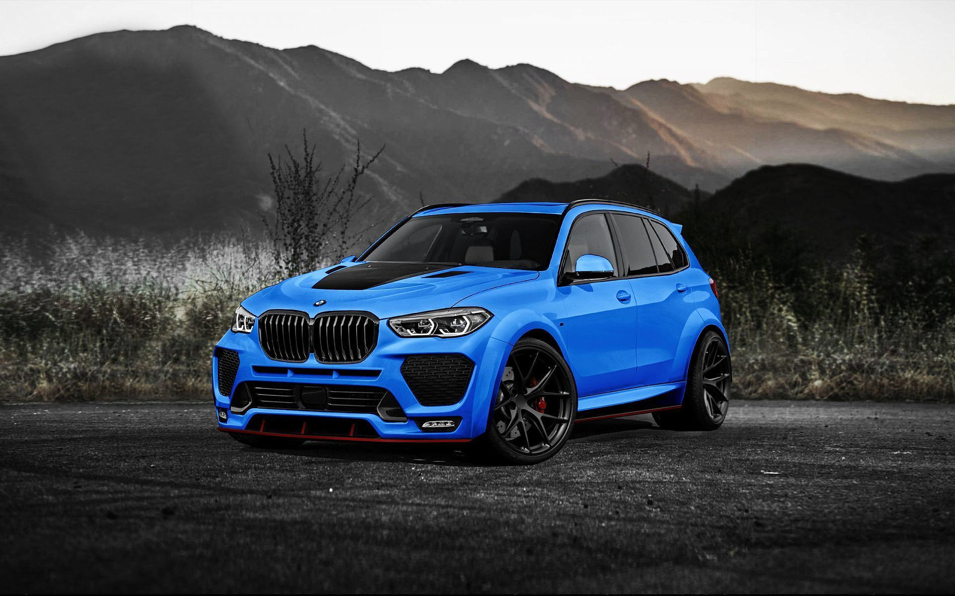 Renegade Design body kit for BMW X5 G05