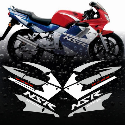 Набор виниловых наклеек на мотоцикл Honda NSR 125R 2001-2002