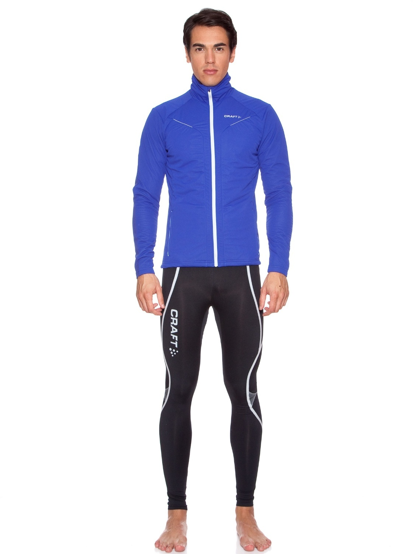 Мужская лыжная куртка крафт Storm (194653-1336) голубая фото
