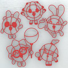 Малышарики: Крошик форма для пряника