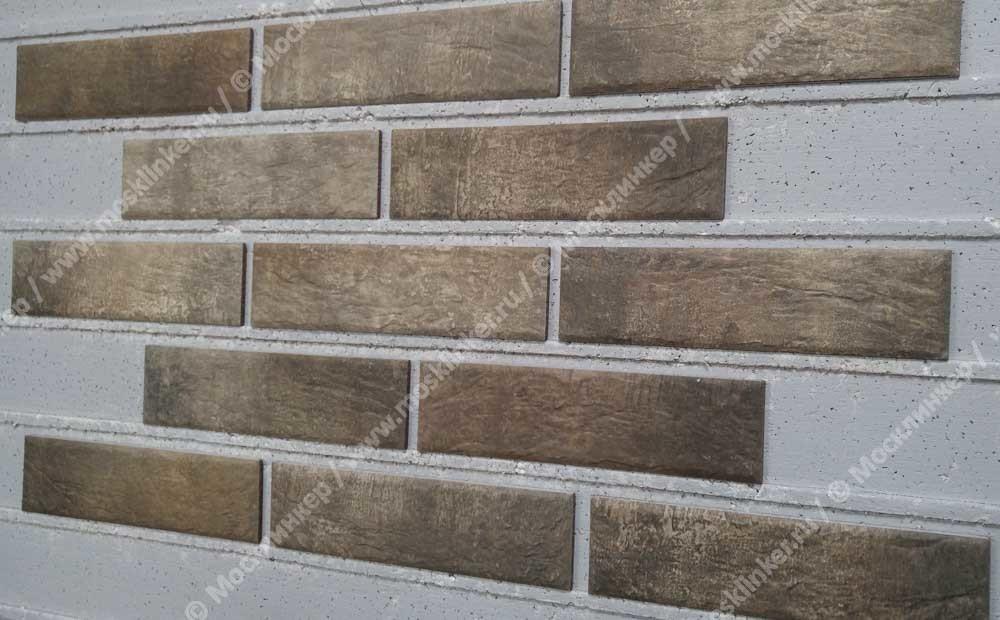 Клинкерная плитка Cerrad, Loft brick, Pepper, 245x65x8