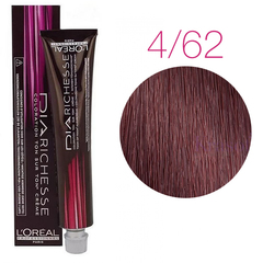 L'Oreal Professionnel Dia Richesse 4.62 (Цветок амараллиса) - Краска для волос
