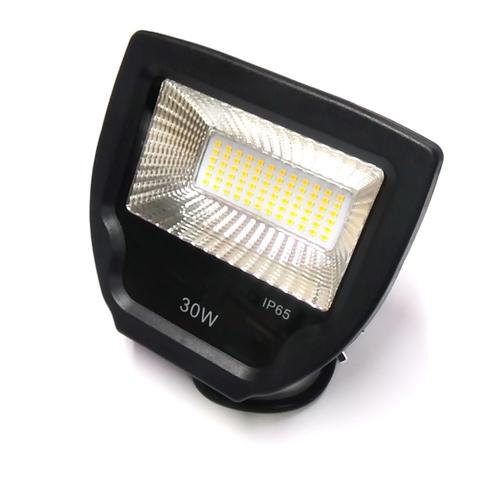 Светодиодный прожектор SMD LPR 30W 3000K P1 черный.