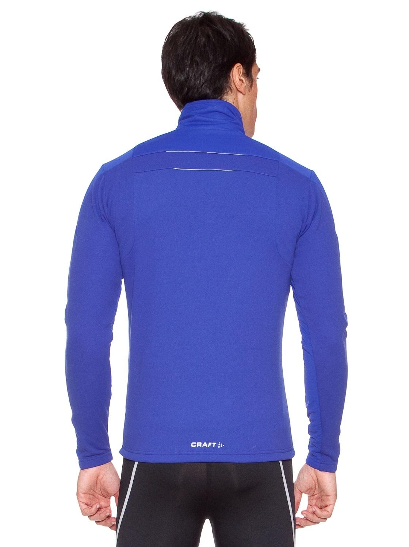 Мужская лыжная куртка крафт Storm (194653-1336) голубая