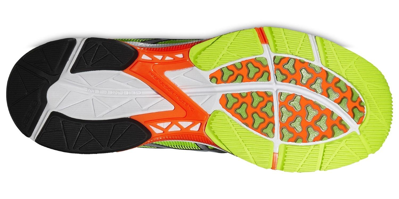 Мужские беговые кроссовки Asics Gel-DS Trainer 20 NC (T529N 0793) желтые фото