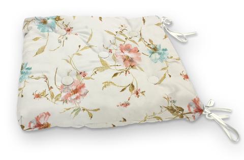 Подушка на стул Марго розовый