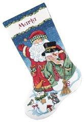 DIMENSIONS Санта и снеговик (Santa & Snowman)