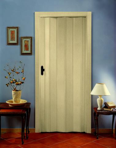 Дверь гармошка БЕЛЕНЫЙ ДУБ