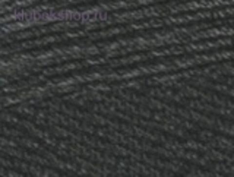 Cotton gold PLUS 182 Средне-серый меланж Alize - фото
