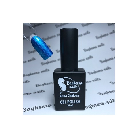Bagheera Nails BN-100 гель-лак с блёстками 10 мл