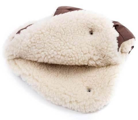 Меховая муфта Markus Basic Twin (100% овечья шерсть)