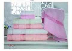 Набор полотенец  3 предмета NIHAN - НИХАН / Maison Dor (Турция)
