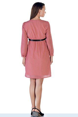 Платье 08974 розовый