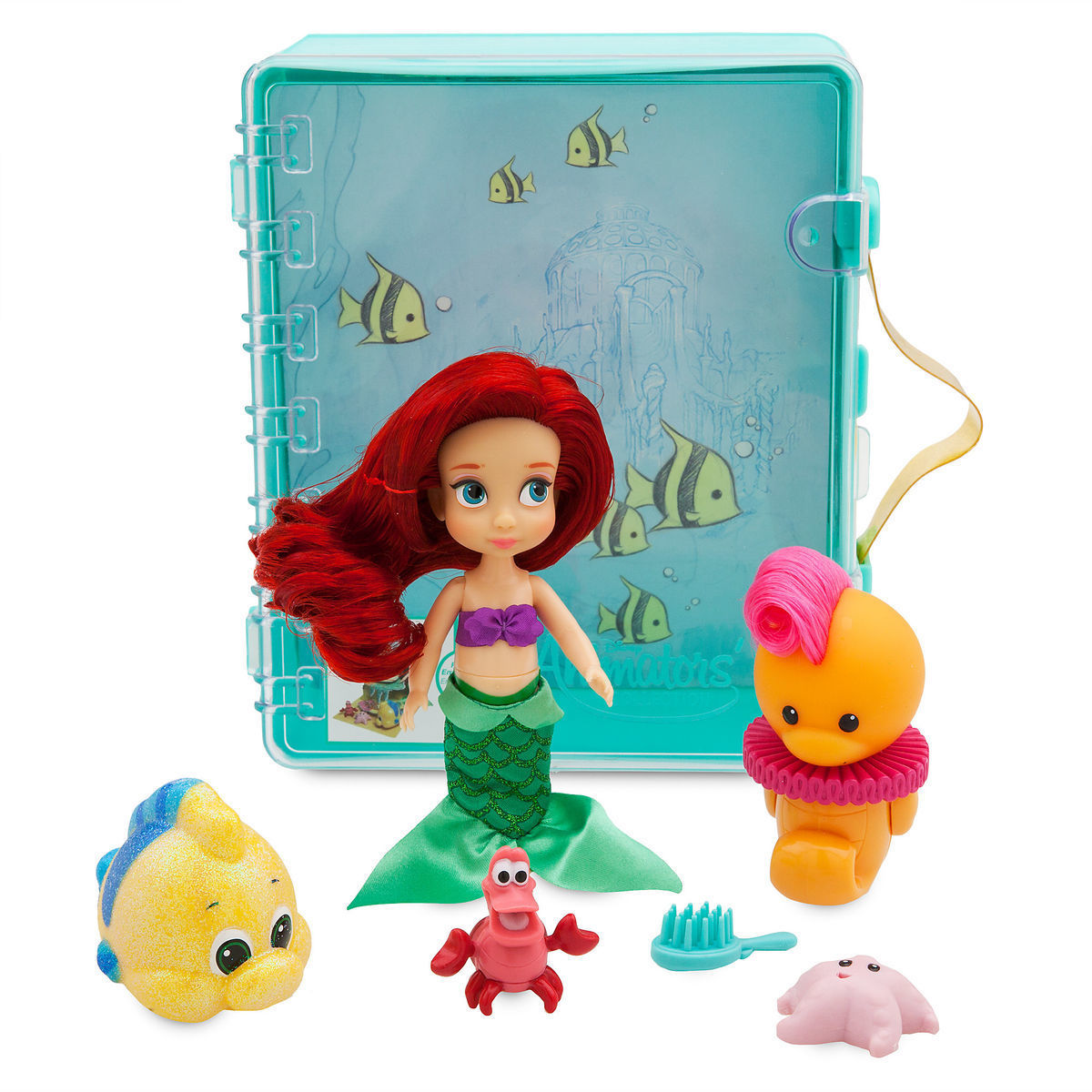 Мини-набор кукол Русалочка - Disney Animators' Collection