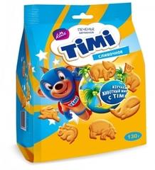 Печенье затяжное «TIMI» Сливочное 130г