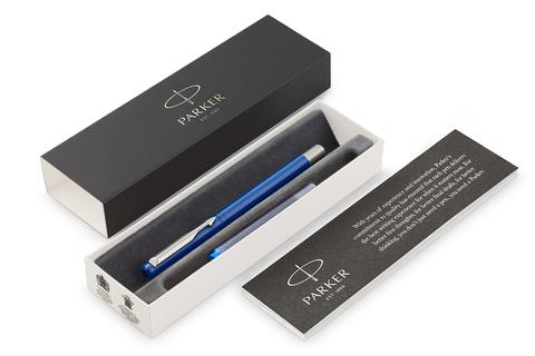 Перьевая ручка Parker Vector Standard F01, цвет: Blue123