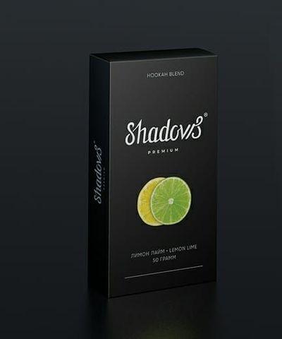 Бестабачная смесь Shadows - Лимон Лайм