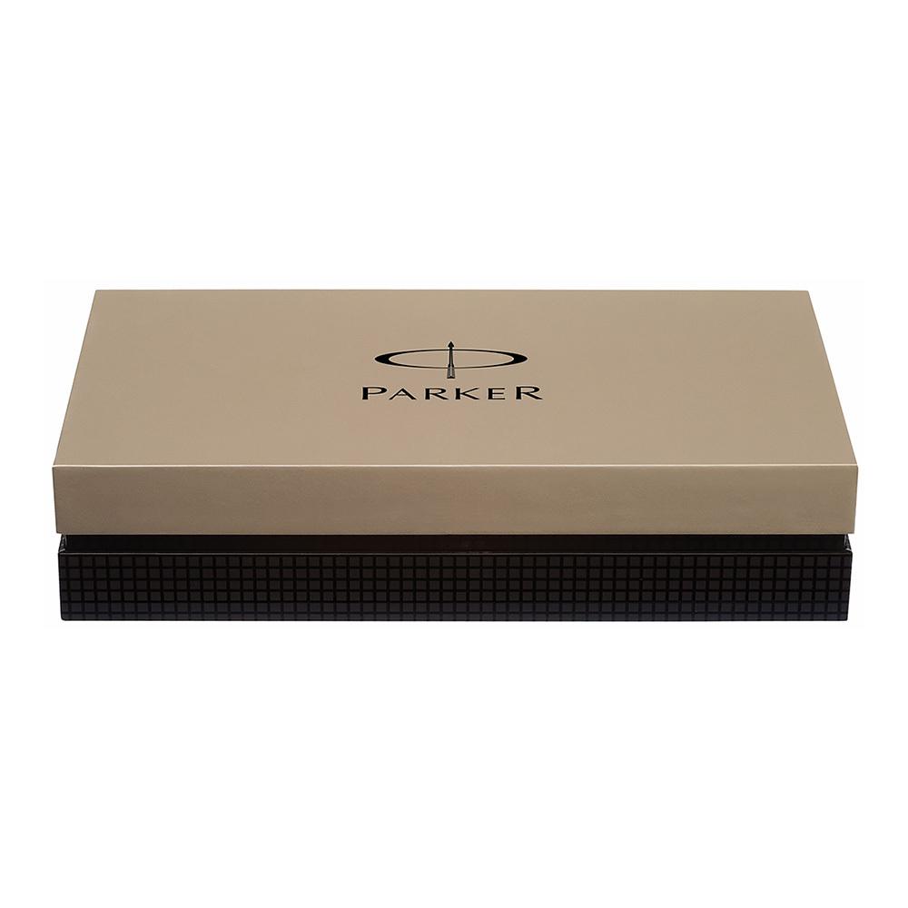 Parker Premier - Deluxe Graduated Chiselling ST, шариковая ручка, M