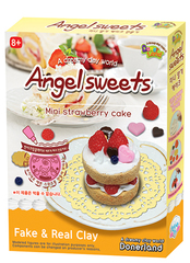 AS10013 Набор для лепки Angel Sweets Mini Strawbery cake